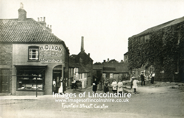Caistor_Fountain_Street_1920s