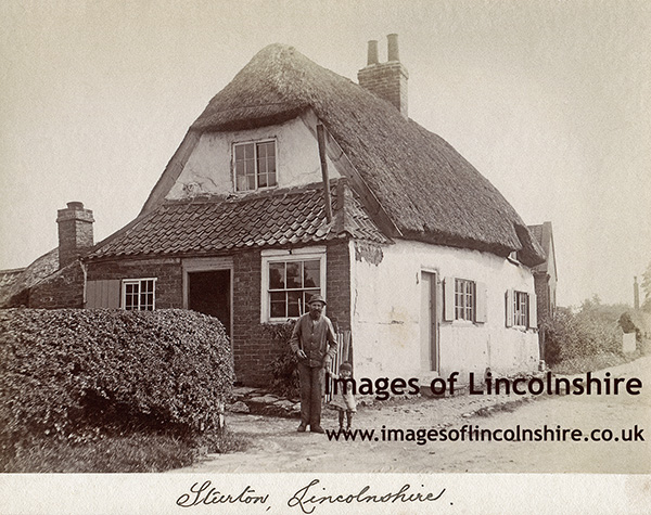 Mrs Wildgoose's Farm Worker and Cottage in Sturton