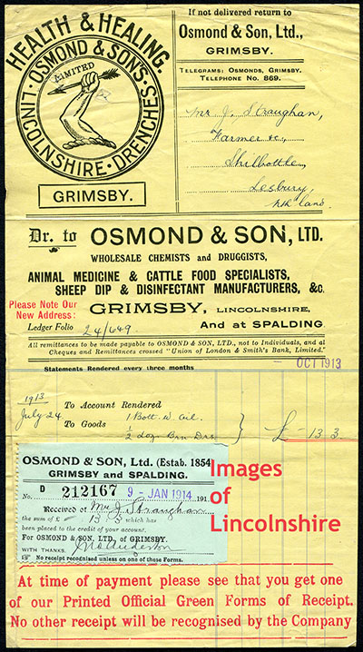 Osmond_Receipt_1913