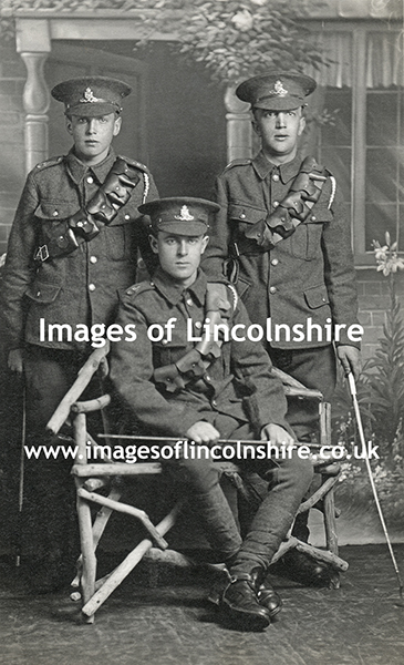 Three_WWI_Soldiers_by_Clem_Kenning_of_Grimsby