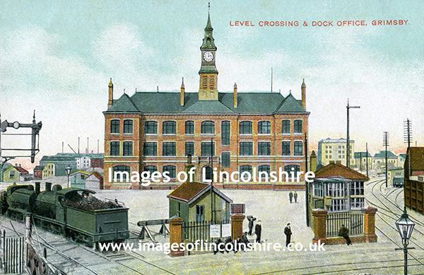 Grimsby_Docks_Railway_and_Dock_Offices_Pre_WWI