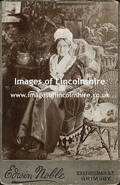 Victorian_Grimsby_Lady_in_Armchair_with_Cat_by_Noble